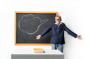 schooljongen foto
