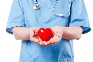je hart is in goede handen. foto