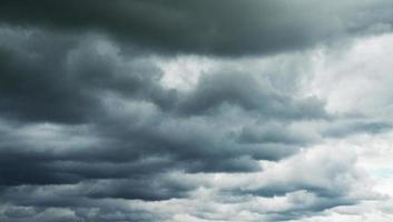 stormachtige lucht
