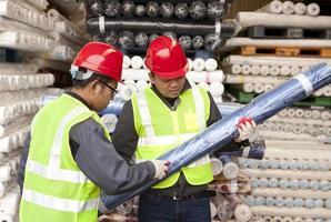 textielfabriek werknemer foto