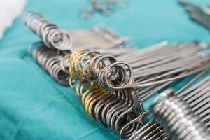 chirurgische instrumenten voor chirurgie foto