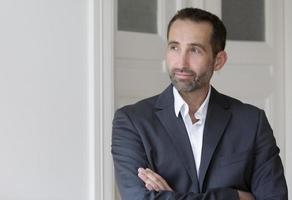 portret van een zakenman foto