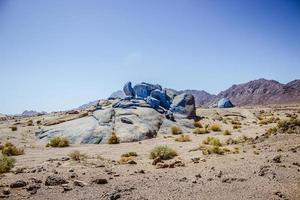 blauwe woestijn foto