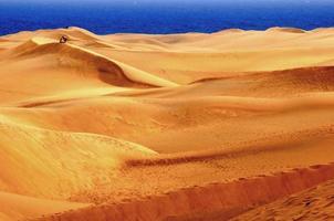 zandwoestijn foto
