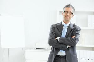 portret van zakenman foto
