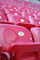stadionstoelen foto
