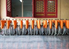 rolstoelen voor patiënt foto