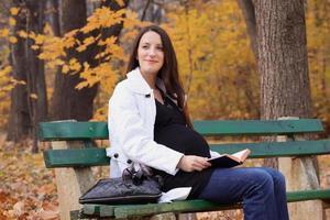 zwanger meisje foto