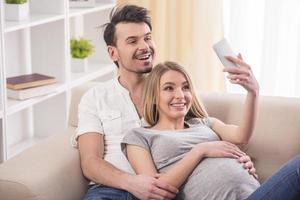 zwangere vrouw foto