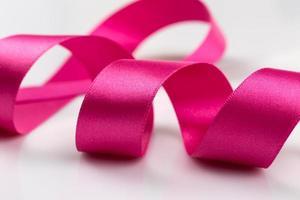 roze lintje foto