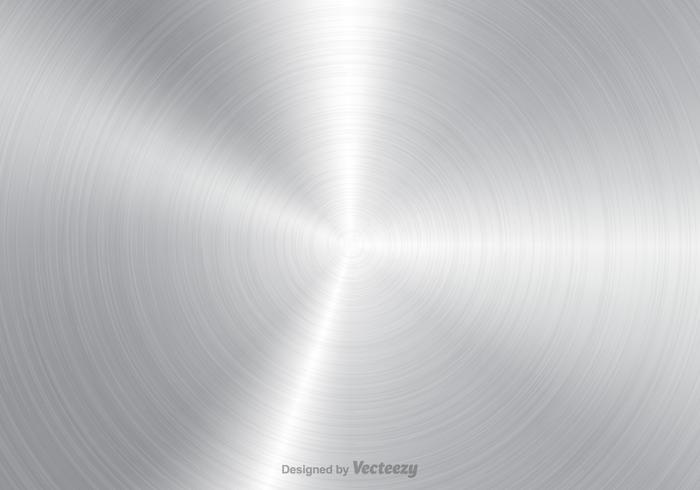 Gratis Geborsteld Aluminium Vector Achtergrond