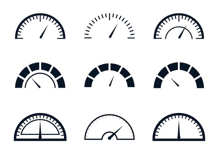 Brandstofmeter vector