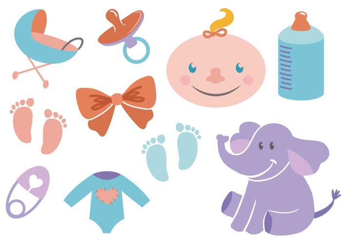 Gratis Babyvectoren vector