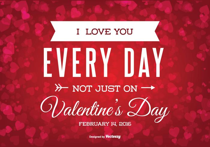 Valentijnsdag Illustratie vector