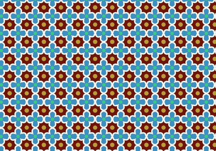 Abstracte Mozaïekpatroon Vector