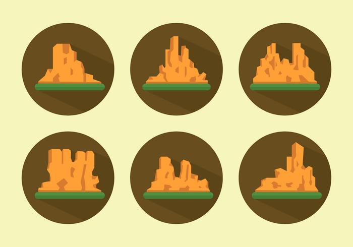 Vectorillustratie van Grand Canyon vector