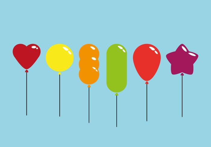 Kleurrijke Ballonvectoren vector