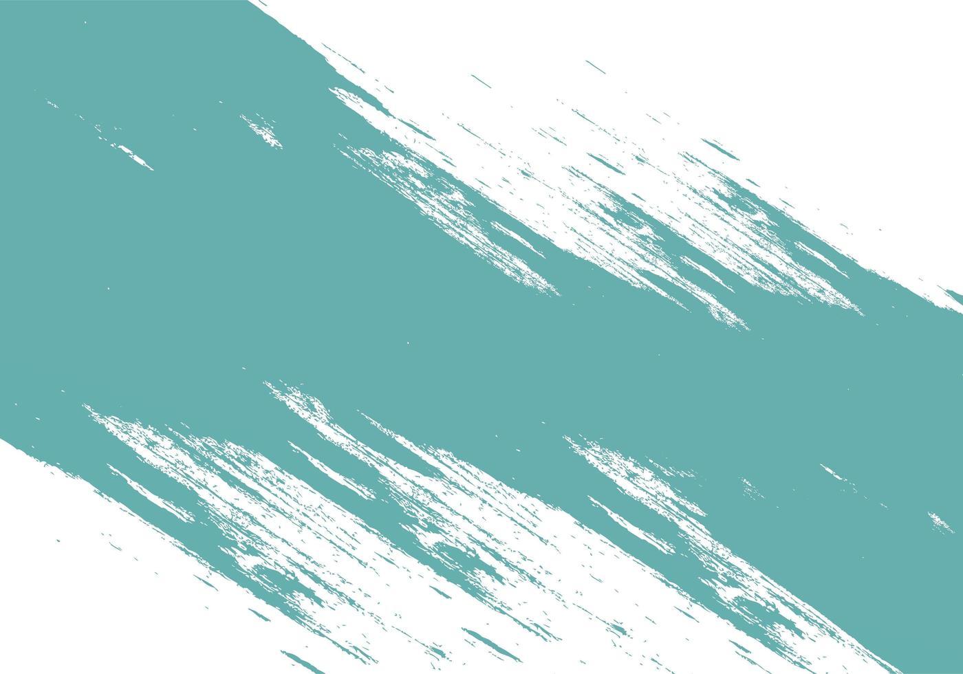 abstracte teal penseelstreek textuur vector