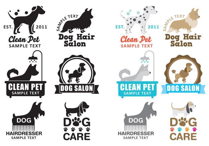 Dog Wash Logo Vectoren