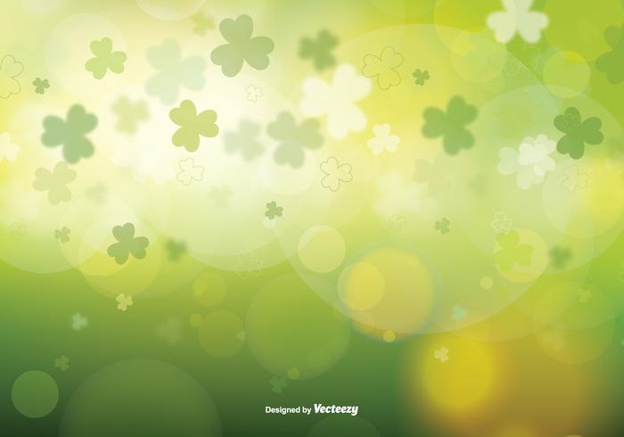 St Patrick's Day Wazig Vectorillustratie vector