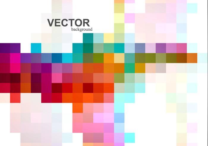 Abstracte Kleurrijke Mozaïek vector