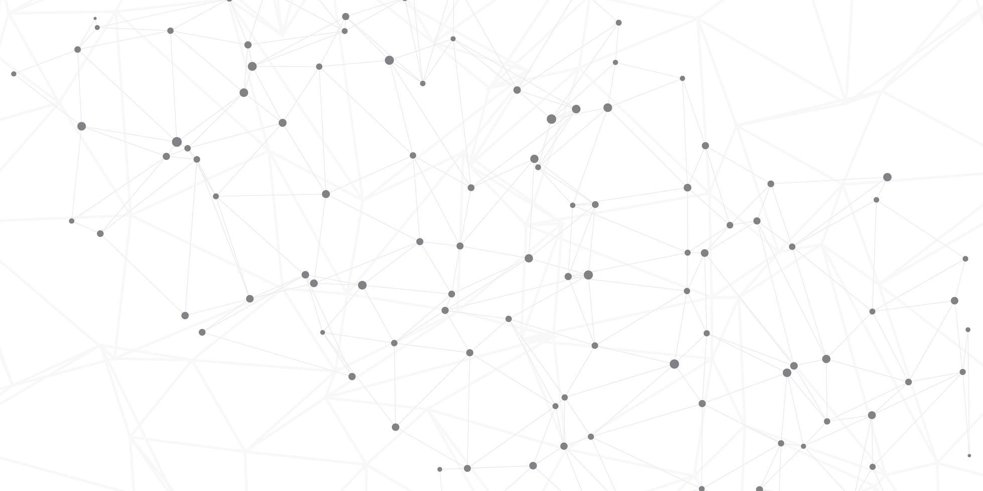 netwerkverbindingen op witte achtergrond vector
