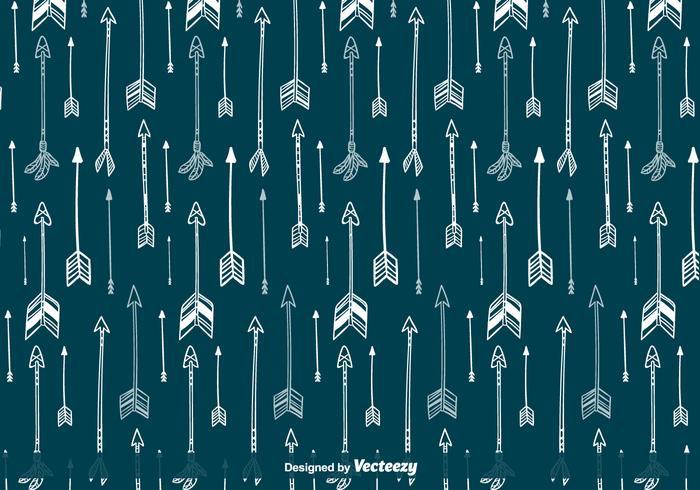 Indische Pijlen Vector Patroon