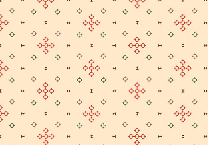 Geometrische Beige Achtergrond Patternb vector