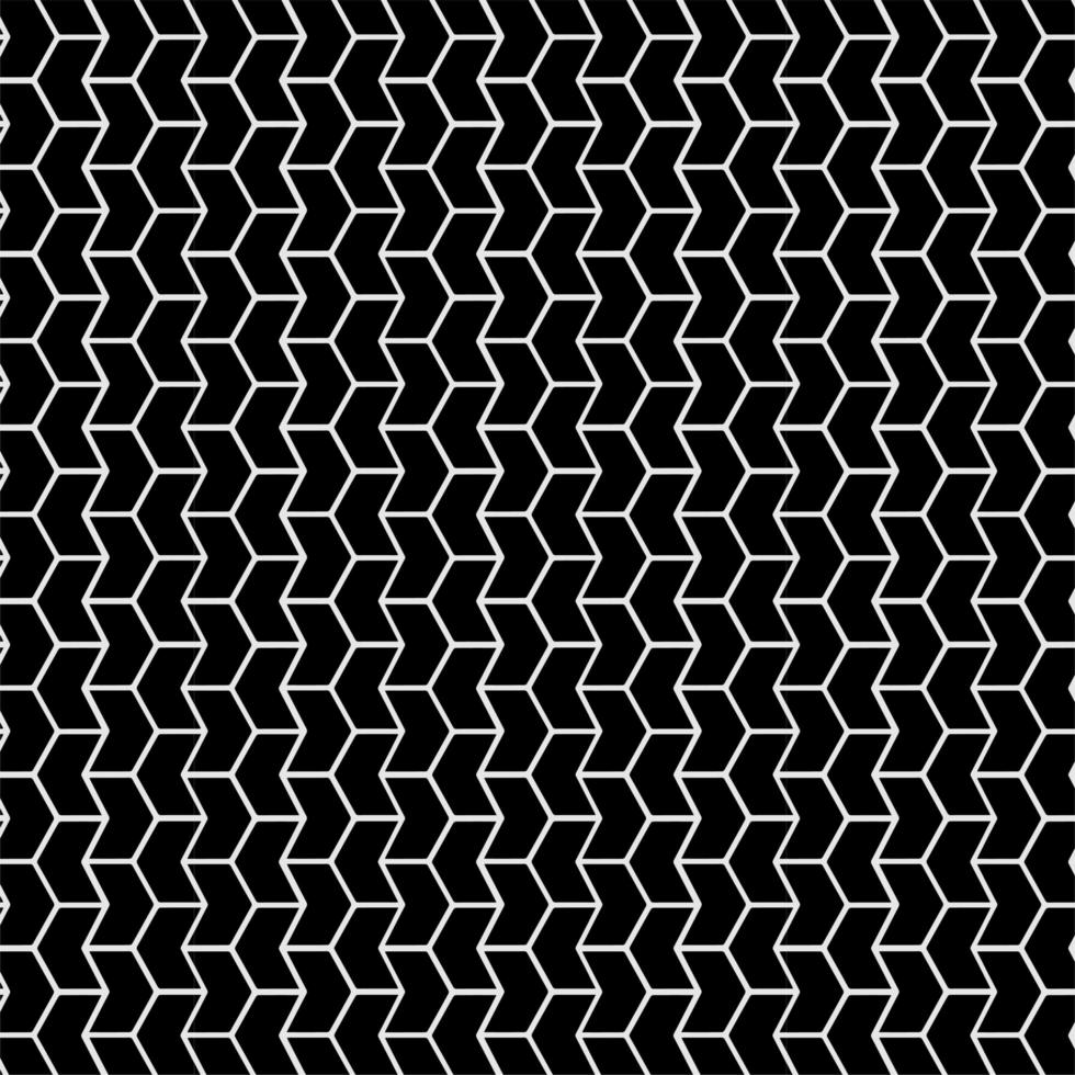 naadloze patroon pijl ontwerp vector