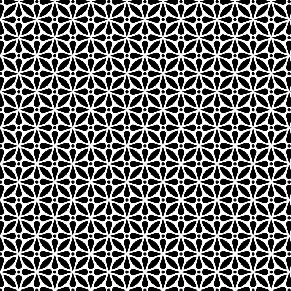 cirkelvormig bloemenvorm naadloos patroon vector