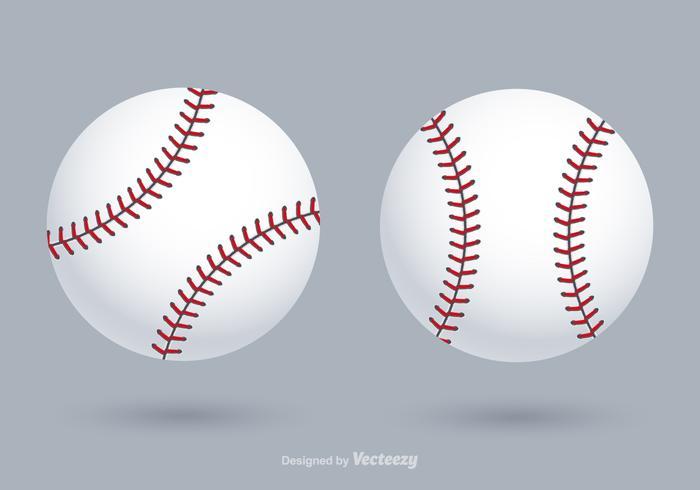 Gratis Vector Baseballs
