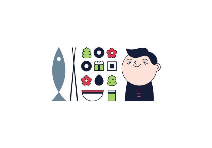 Gratis Sushi Vector