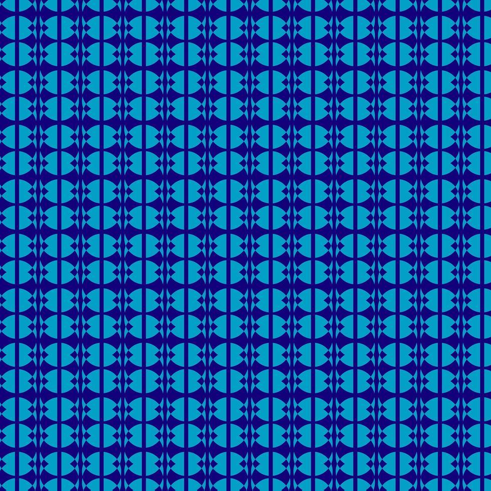 blauw cirkelpatroon vector