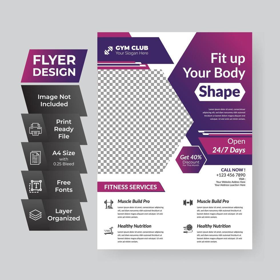 zakelijke flyer cover vector