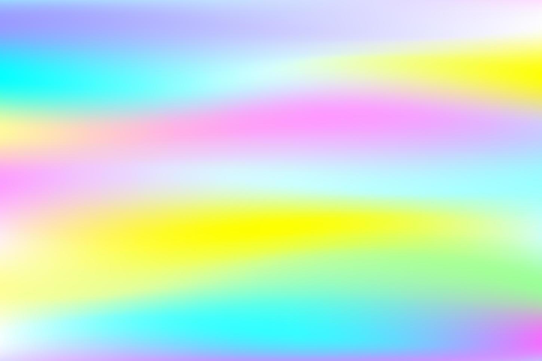 helder kleurrijk holografisch folieontwerp vector
