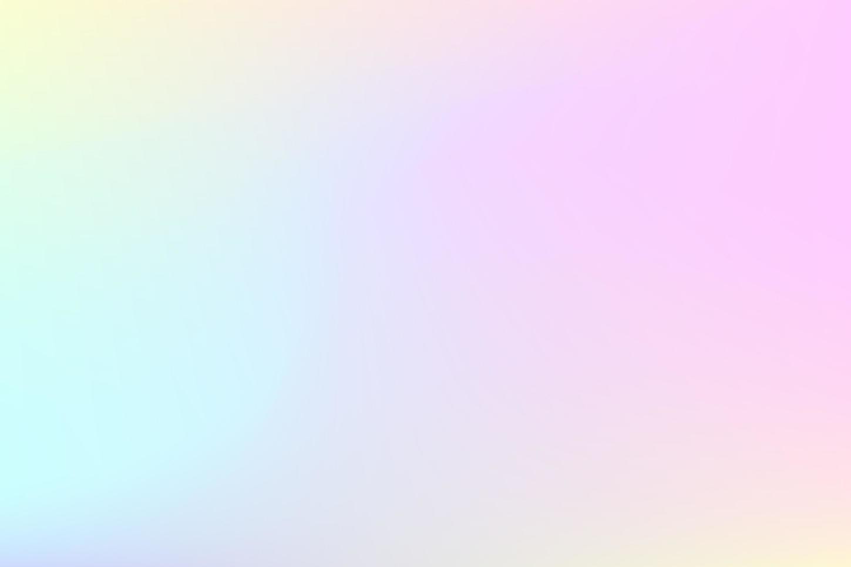 zacht wazig pastel holografisch ontwerp vector