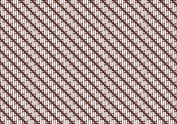 Gratis Java Batik Achtergrond Vector