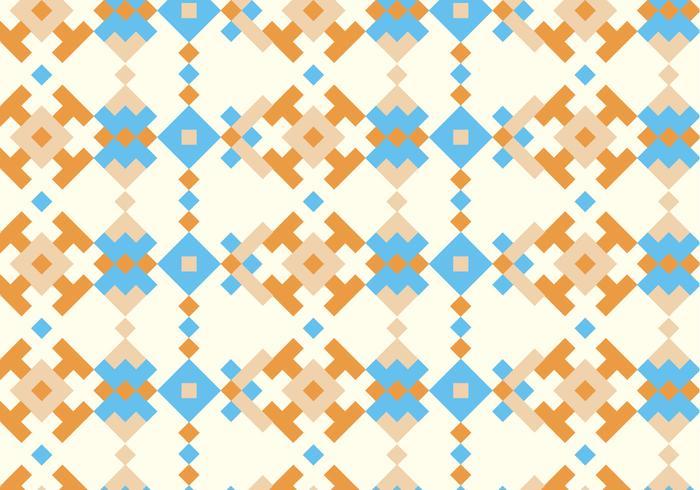 Inheemse Traditionele Patroon Achtergrond vector