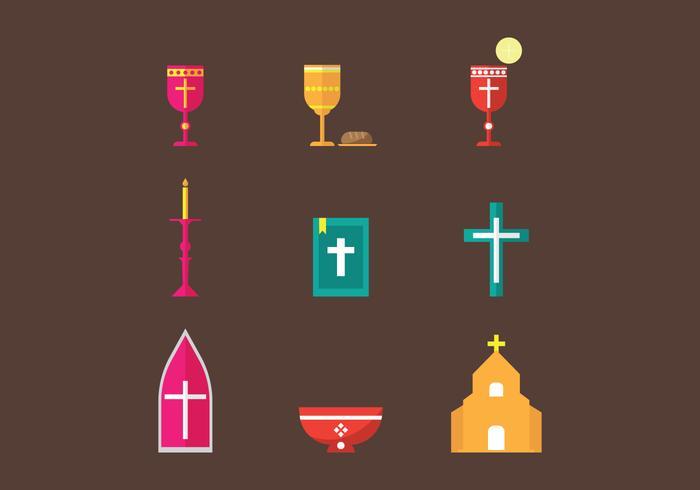 Gratis Eucharistie Vector