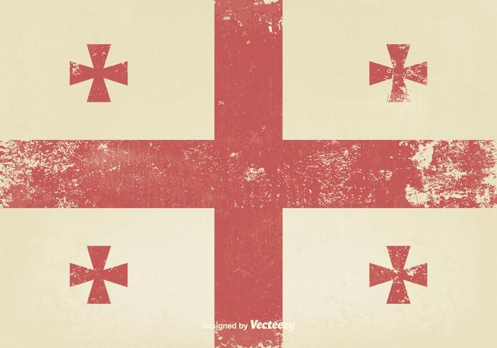 Oude Middeleeuwse Vlag vector