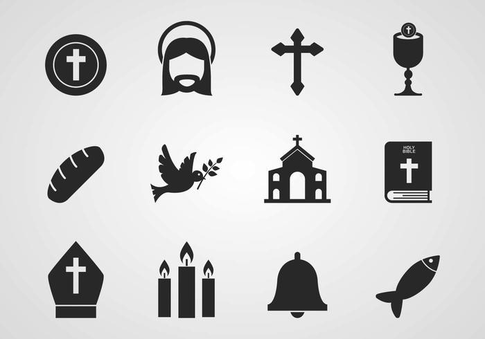 Gratis katholieke Pictogrammen Vector