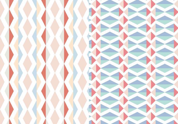Abstract Geometrisch Pastelpatroon vector