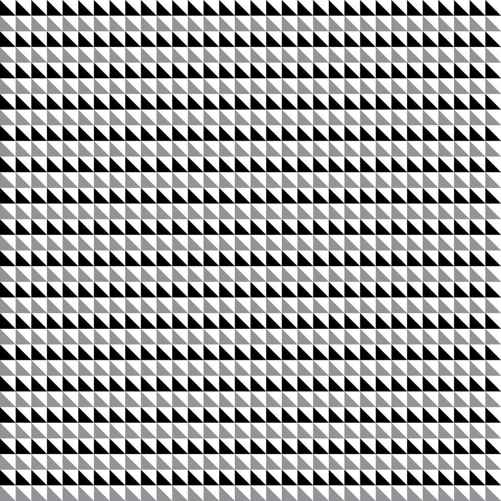 naadloze zwart grijze driehoeken vector