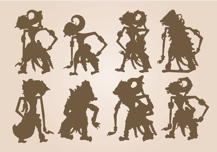 Gratis Shadow Puppet Vector