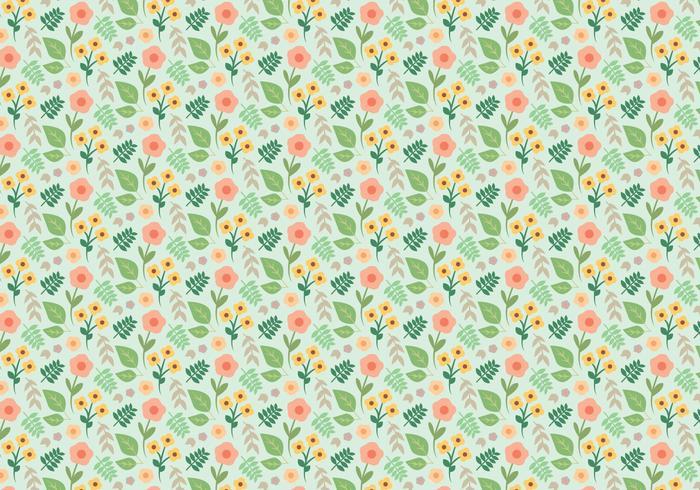Plant Bloempatroon vector