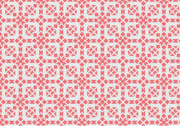 Roze Motiefpatroon vector