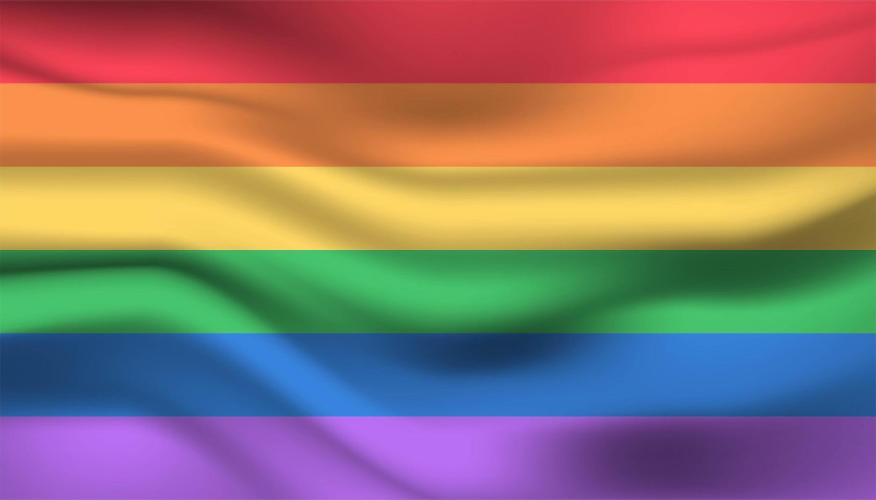 regenboog trots vlag achtergrond vector