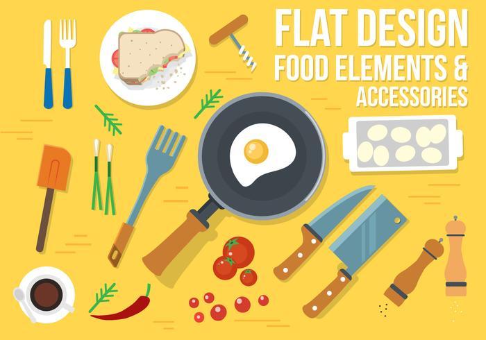 Gratis Food Vector Design