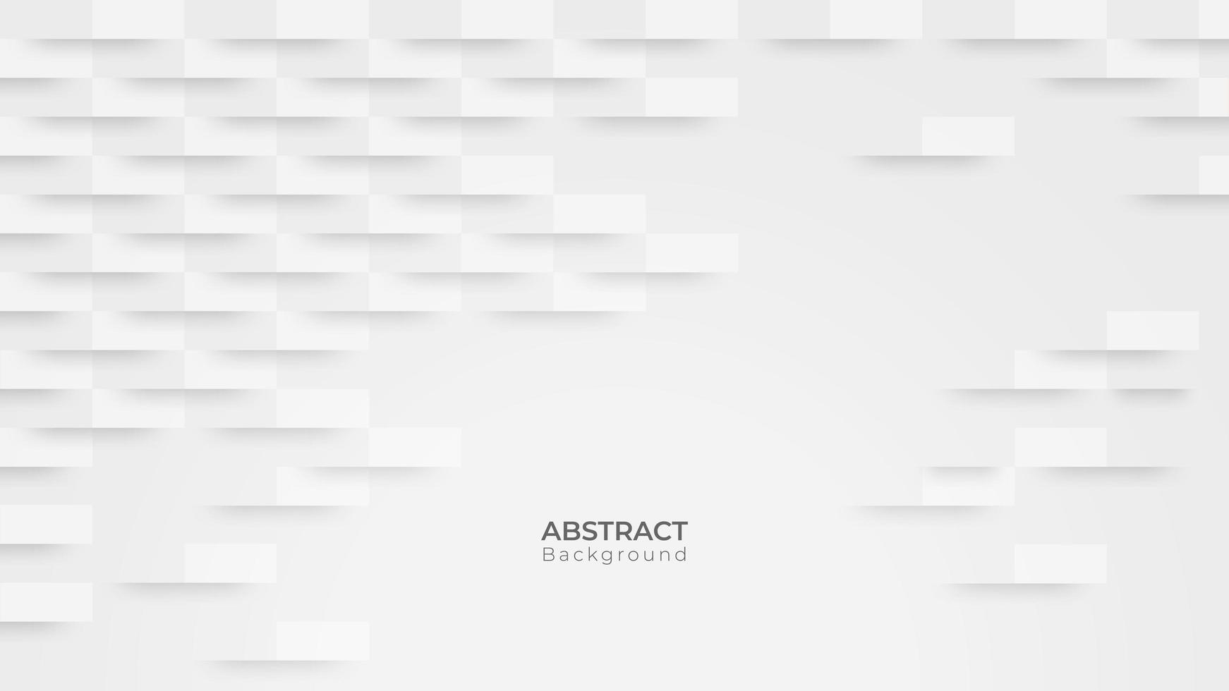 abstracte moderne witte rechthoek achtergrond vector