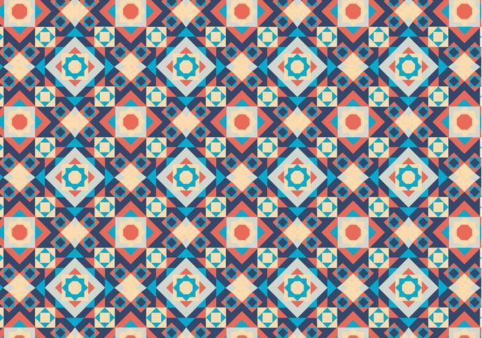 Geometrisch Motiefpatroon vector